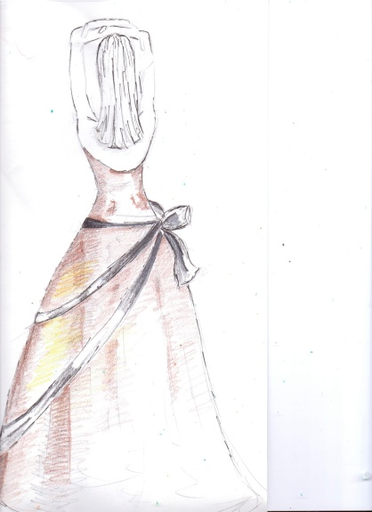 gold dress copy